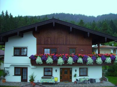 Comfortable apartment at the foot of the Wilder Kaiser mountain, garden, terrace, cable TV