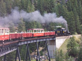 Railroad at Georgetown that you can ride - Jefferson cabin vacation rental photo