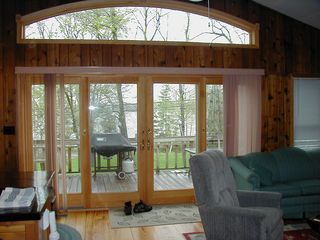 Copake house photo - Sliding Doors in the Great Room
