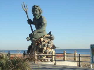 King Neptune at the 31 street stage/ 4 blocks from house - Virginia Beach house vacation rental photo