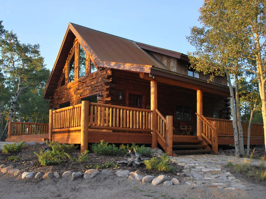 Authentic Log Cabin In Beautiful South Park Colorado 60 Min To