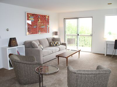 Sweeping view!  Gorgeous renovation!  Easy access to Downtown, and more
