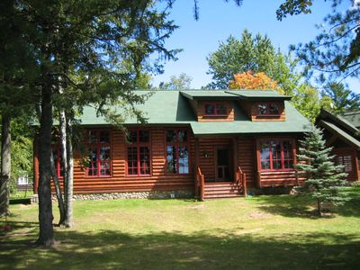 Bay Lake Cabin & Guest House with Best Shoreline on the lake!