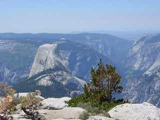 Mariposa chalet photo - The center of it all. Half Dome! Magnificence in granite. Awesome.