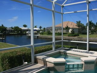 Vacation Homes in Marco Island house photo - Lovely Water View from Lanai