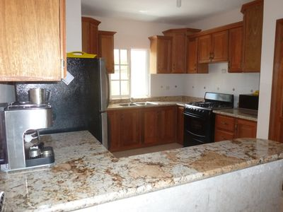 Punta Cana apartment rental - Granite counters and stainless steel appliances