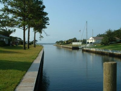 Waterfront Cottage W/ Deep Water Dock-3BR/2BA