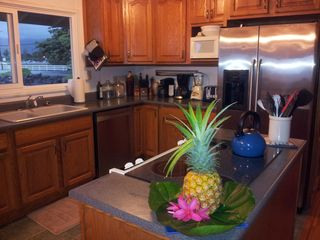 Kaaawa house photo - Kitchen with New Dishwasher and Refrigerator