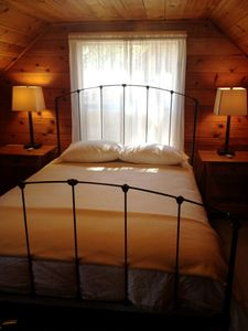 Sierra Tract cabin rental - Second Level Queen - Bedroom 2