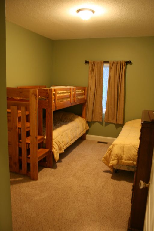 Bunk Room Bedroom #4 (3 single beds)