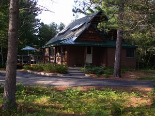 North Conway cabin photo - Summer- front view