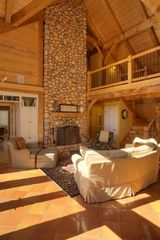 Asheville house photo - timber frame mountain retreat