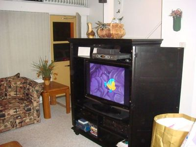 HD TV and Entertainment Cabinet