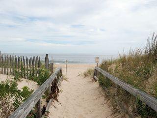 Bethany Beach house photo - beach access boardwalk 15 steps from home