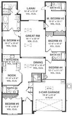 Indian Creek villa photo - Floor Plan