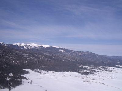 Wheeler Peak Overlooking Angel Fire