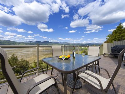 Baie-Saint-Paul property rental - Country home with breathtaking view of the River, the mountains and the bay