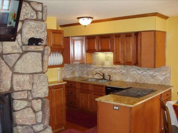 Winter Park condo rental - Newly remodeled kitchen fully stocked with everything you need to feel at home.