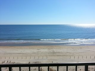 Vacation Homes in Ocean City condo photo - Can't get a better view of the beach!