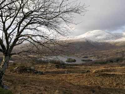 Winter in the mountains surrounding Killarney National Park