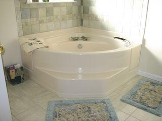 Bay Head house photo - Jacuzzi Tub and Extra Large Shower Stall Double Sink