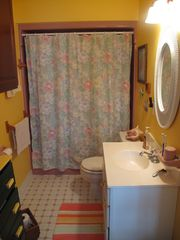 Pentwater cottage photo - Main floor bathroom.