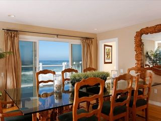 La Jolla house photo - Enjoy ocean vews while dining, seats 12-14