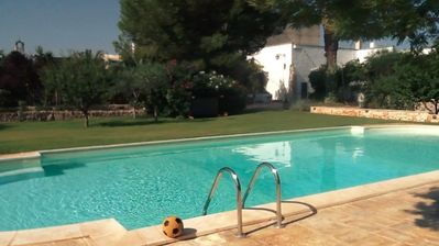 Great price for antique and charming masseria with lawn and private pool