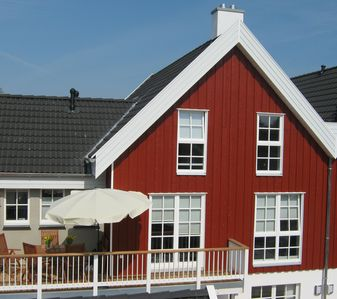 Hafenperle: Excl. Wellness apartment with sauna, Jacuzzi, fireplace, Wi-Fi - at the harbor