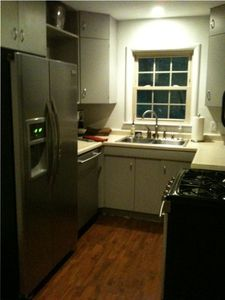 Partial view of updated Kitchen.