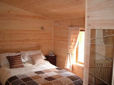 Astbury Falls cabin rental - Bedroom two at Bentley Lodge