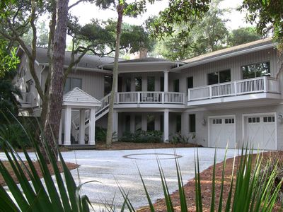 Best Large Group Sea Pines Home 2nd Row Vrbo