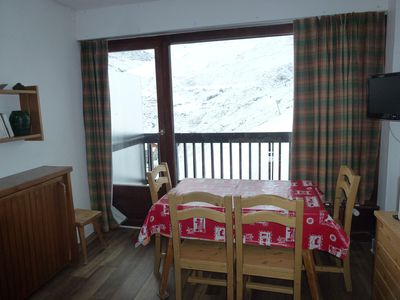 2 rooms 5 people on the slopes in Tignes le Lac