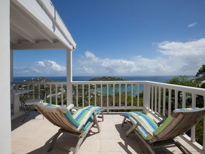 Get laid back and enjoy the forever view from the Loft Suite deck