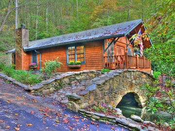 Bryson City cabin rental - Bridge Cottage