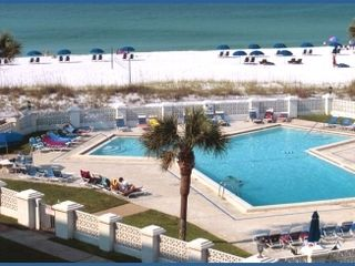 Okaloosa Island condo photo - Gulf side pool