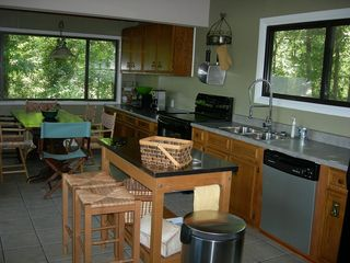 Kentucky Lake house photo - Kichen updated with new appliances. Plenty of work area and seating for all!