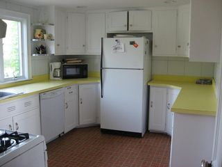 Harwich - Harwichport house photo - Fully equipped kitchen in the main house is just off the dining room.