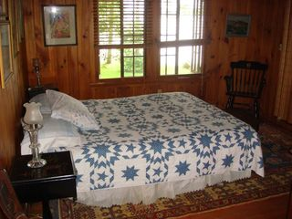 Pilot Knob cottage photo - Front Bedroom overlooking the lake