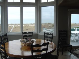 Bald Head Island house photo - Dining with a view!