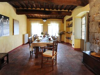 Lucca villa photo - The Wide Dining Room