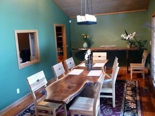 Greensboro house photo - Dining Room with custom designed furniture