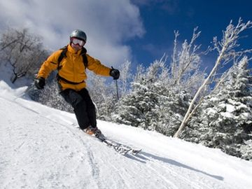 Okemo Mountain has a highly rated snow making