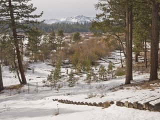 Black Bart house photo - Gorgeous winter views of Lake Tahoe wildness and the Sierra Mountains.