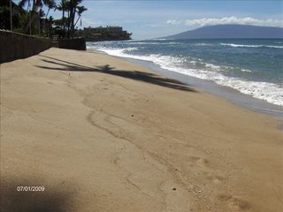 Honokowai condo photo - Picture yourself here on our sandy beach