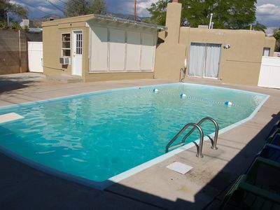Abq Fun House Swimming Pool W Diving Board Movie Game Room Full Remodel Vacation Rental In