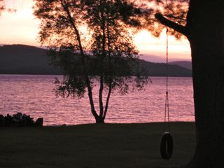 Newfound Lake condo photo - Spectacular Sunsets