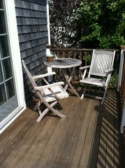 Provincetown condo photo - Exclusive use deck with Bay Views