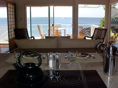 Amazing Pacific Ocean view from the Kitchen