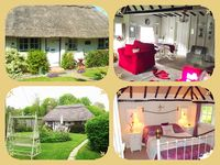 Enchanting detached thatched cottage in a truly magical setting